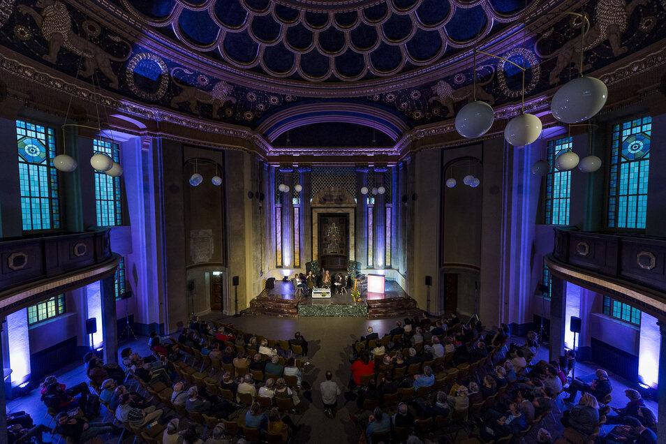 2018 fand ein Teil der Literaturtage in der Görlitzer Synagoge statt. So wird das Kulturforum in Zukunft öfter genutzt werden.