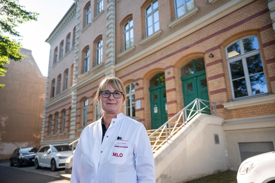 Dr. Claudia Friedrichs ist Infektionsepidemiologin und leitet das Medizinische Labor Ostsachsen in Görlitz.