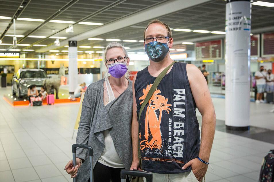 Stefanie und Rico Driest haben sich in Spanien sicherer gefühlt als in Deutschland.