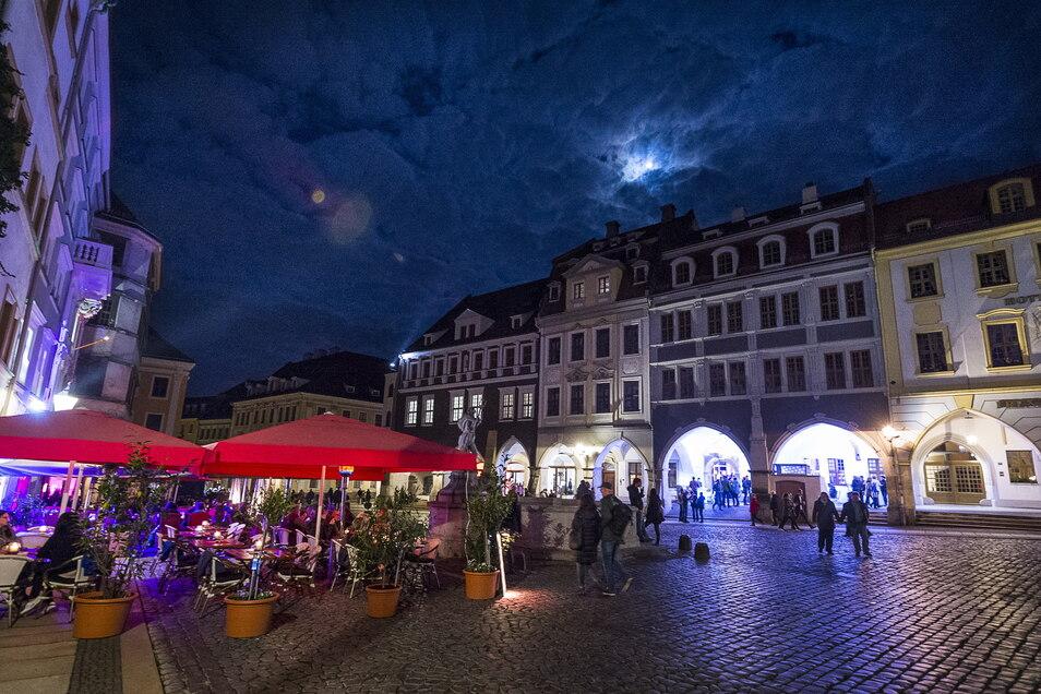 Der Görlitzer Untermarkt ist ideal für Außengastronomie. Daran verdient die Stadt dieses Jahr weniger mit als sonst.