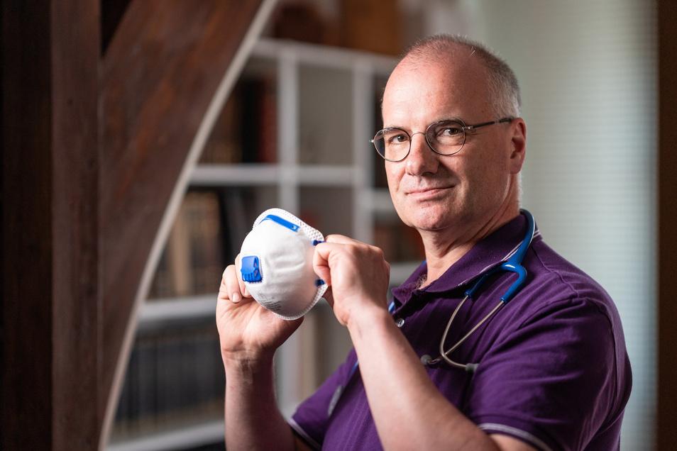 Erik Bodendieck ist Hausarzt in Wurzen - und Präsident der Sächsischen Landesärztekammer