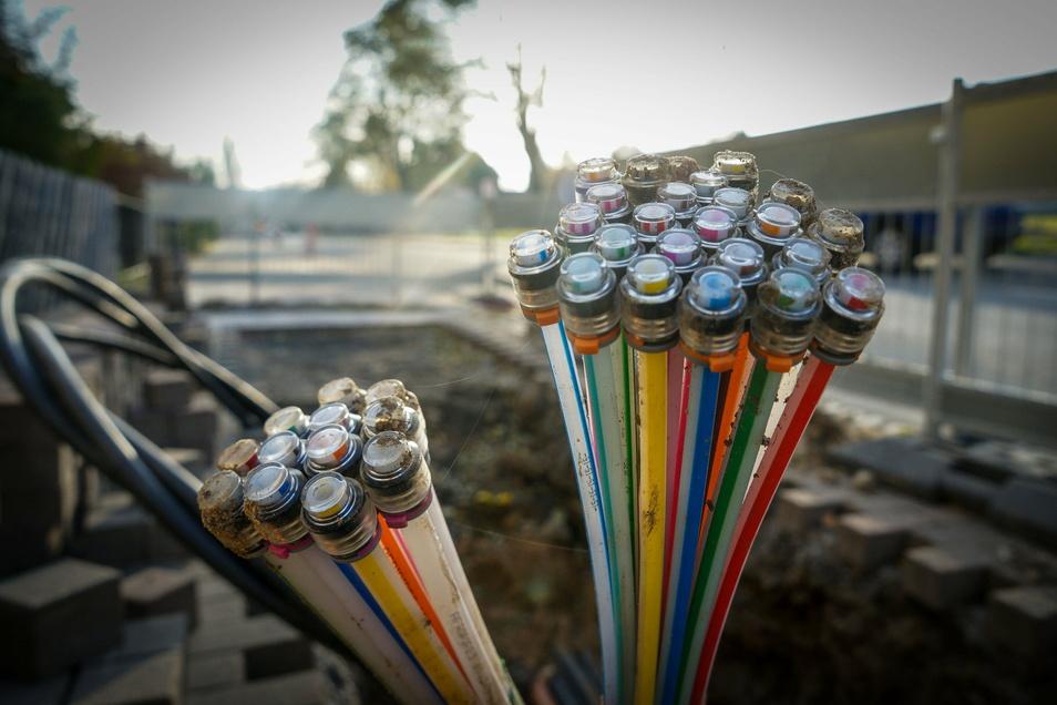 Auch die ländlichen Ortsteile werden in Lommatzsch bis Ende 2023 ein Glasfasernetz für schnelles Internet bekommen.