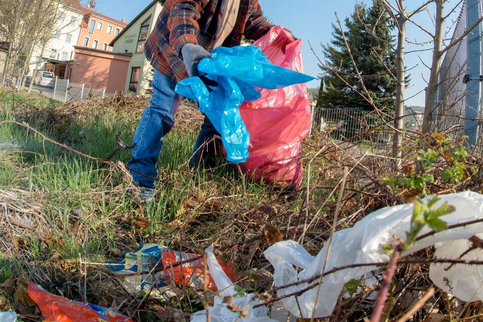 Müll ist bestimmt wieder welcher da, aber coronabedingt fällt der Frühjahrsputz aus.