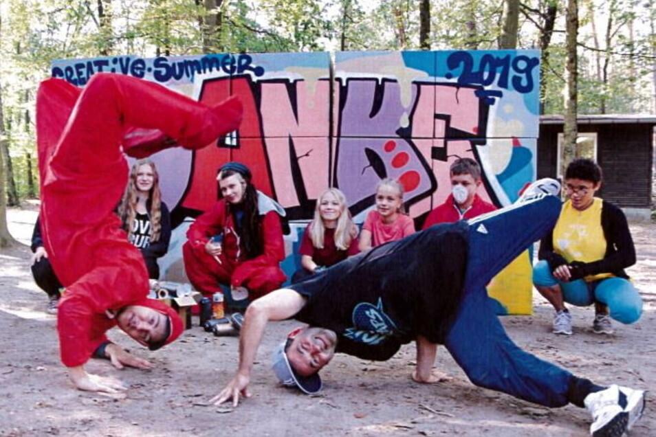 """Der Verein """"Haus der Begegnung"""" in Kamenz bekommt aus dem Bürgerbudget der Stadt Geld für einen Hip-Hop-Workshop."""