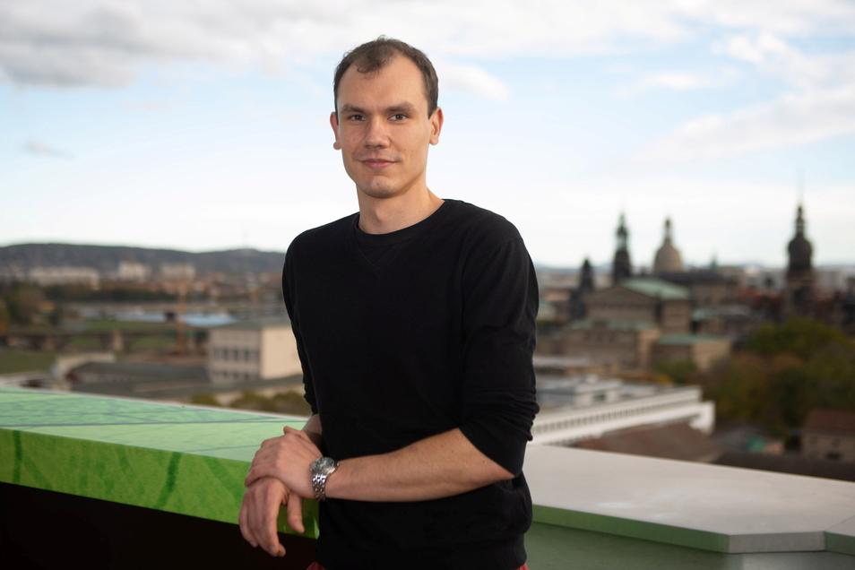 Klemens Schneider bleibt Chef der Dresdner Grünen, hat nun eine neue Co-Sprecherin an seiner Seite.