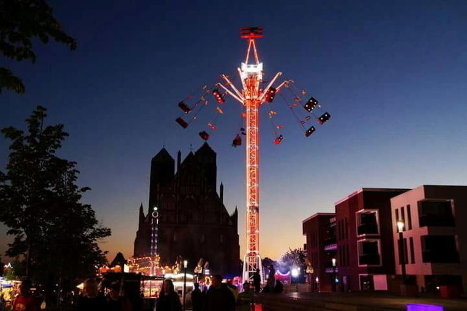 """Ein """"Kettenflieger"""" wie dieser soll zum Stadtfest am Rathausplatz aufgebaut werden."""