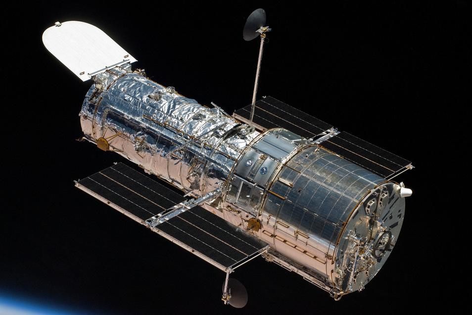 """Das Weltraumteleskop """"Hubble""""."""