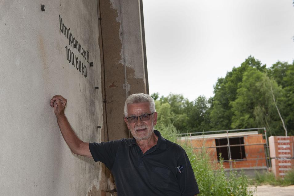 Architekt Konrad Hardt kann teilweise aufatmen: Seine Wohngrundstücke am alten Umspannwerk sind alle vergeben. Noch sind aber die Lofts im Altbau zu haben.