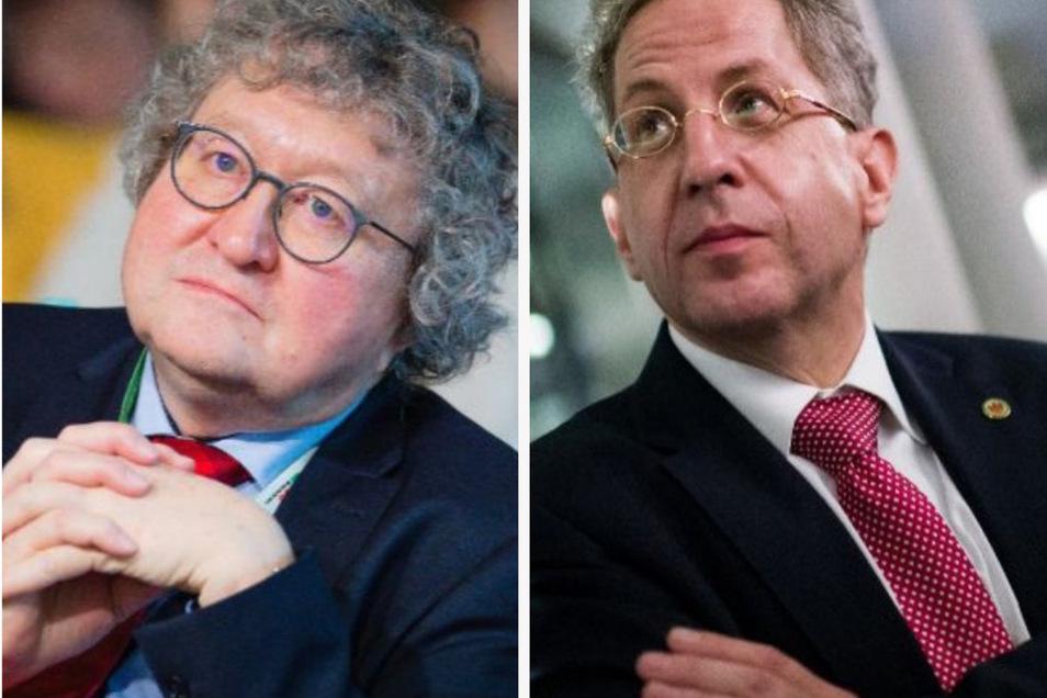 Werner Patzelt  und Hans-Georg Maaßen