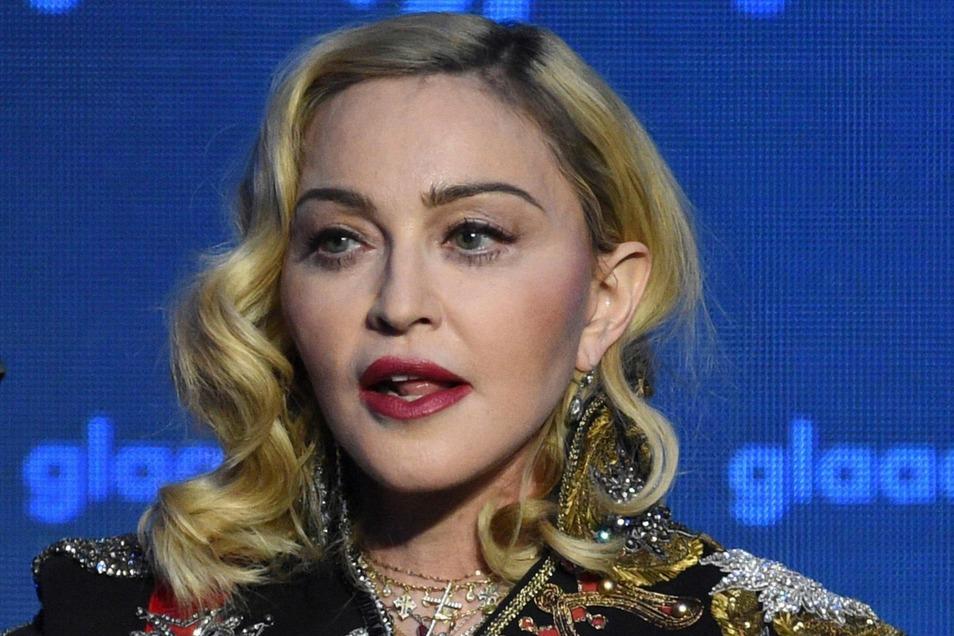 Madonna hat es gerade nicht leicht.