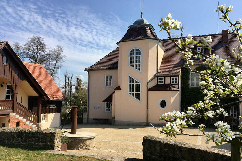 Das Kollwitz-Haus im früheren Rüdenhof in Moritzburg ist der einzige noch existierende authentische Aufenthaltsort der Künstlerin. Hier ist sie am 22. April 1945 gestorben.