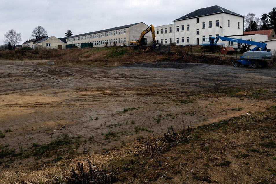 Für Netto darf auf diesem Gelände am Drebnitzer Weg gebaut werden. Weitere Märkte sind hier zurzeit nicht erlaubt.