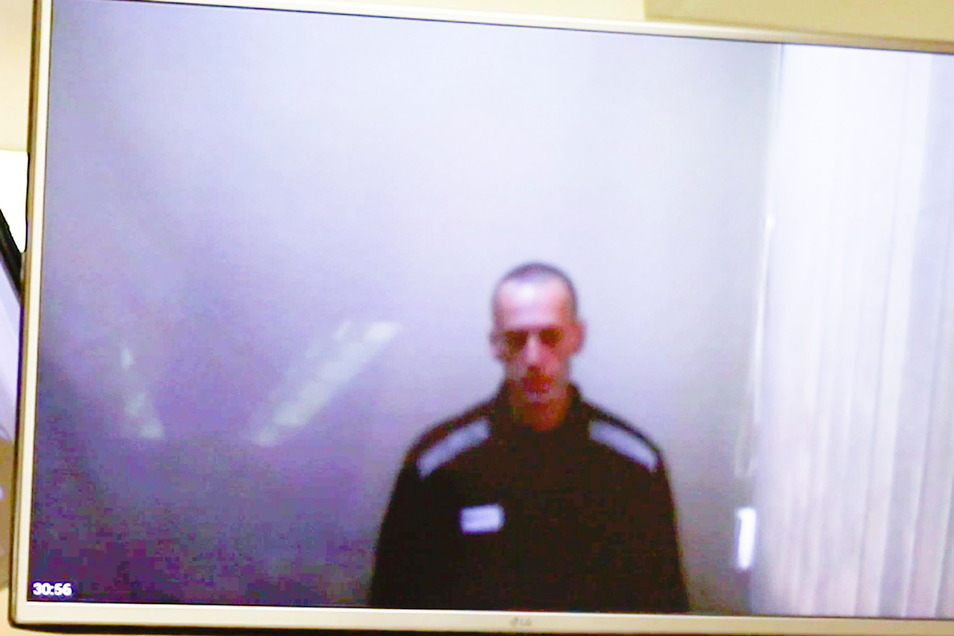 Das Foto zeigt Alexej Nawalny im April.