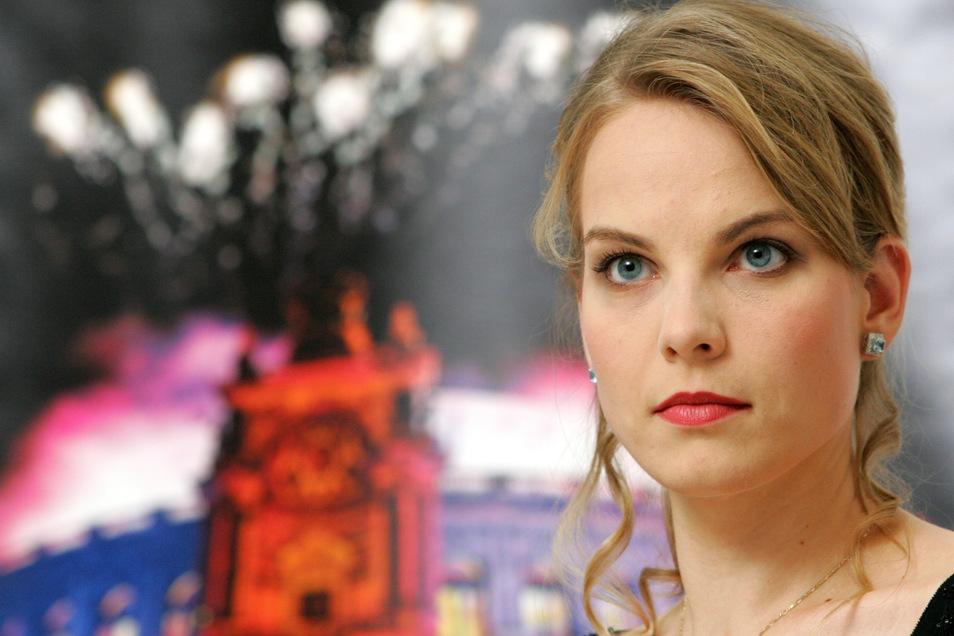 Singt sonst nur auf den allerersten Bühnen von New York, Wien und Salzburg: Superstar Elina Garanca.
