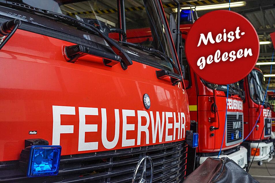 Bei Einsätzen der Feuerwehr zählt jede Minute. In Radeberg ist ein Fahrzeug bei einer Fahrt zum Brandort gestoppt worden. Die Wehr hat Anzeige bei der Polizei erstattet.