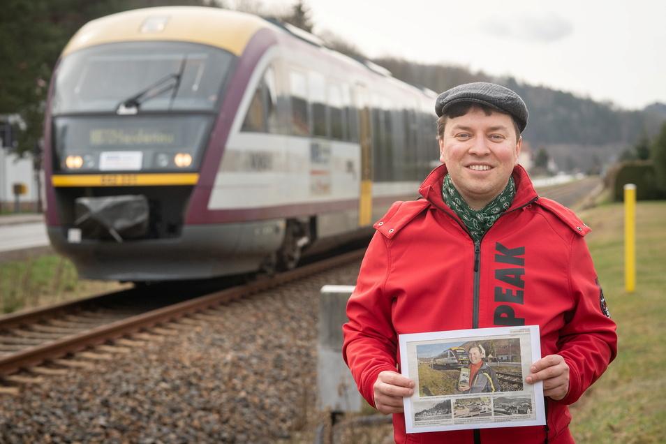 Stefan Müllers Lieblingsthema in der SZ sind Züge.