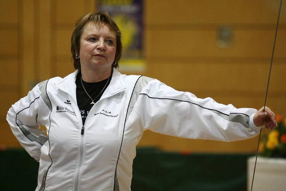 Trainerin Gabriele Frehse soll die Turnhallen in Chemnitz nicht mehr betreten dürfen - mit einer Ausnahme.
