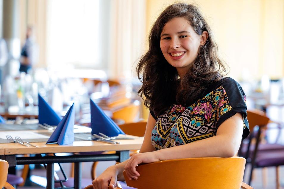 Melinda Kretzschmar interessiert sich für eine Ausbildung zur Köchin und hofft auf ein Praktikum beim Western Hotel Plus in Bautzen.