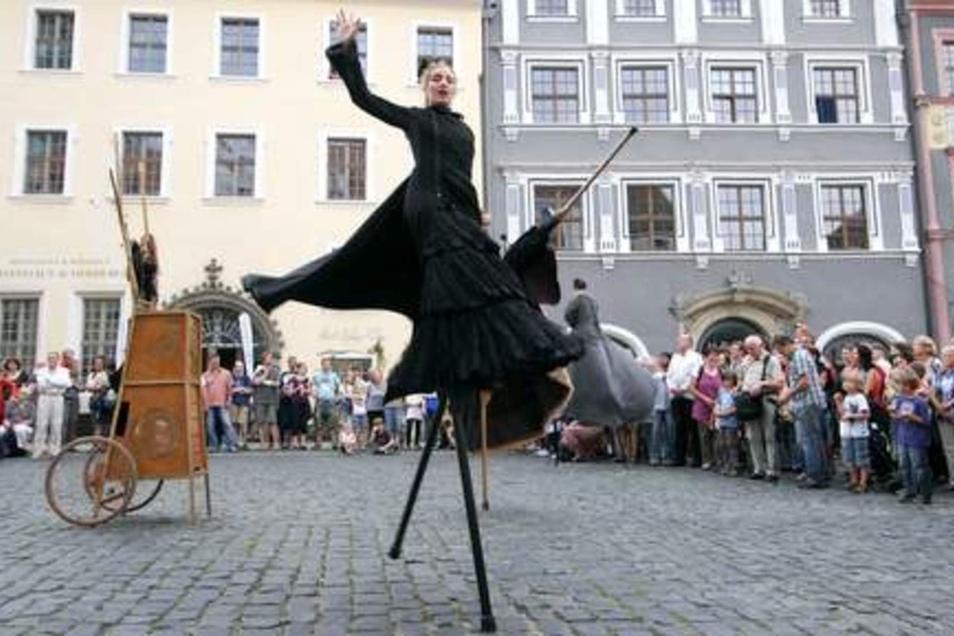 Auch das große Görlitzer Straßentheaterfestival Viathea könnte es ohne Kulturraumförderung so nicht geben..