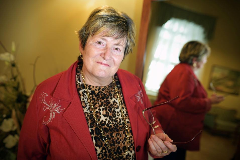 Die Zittauer Standesbeamtin Petra Wießner geht in den Ruhestand.
