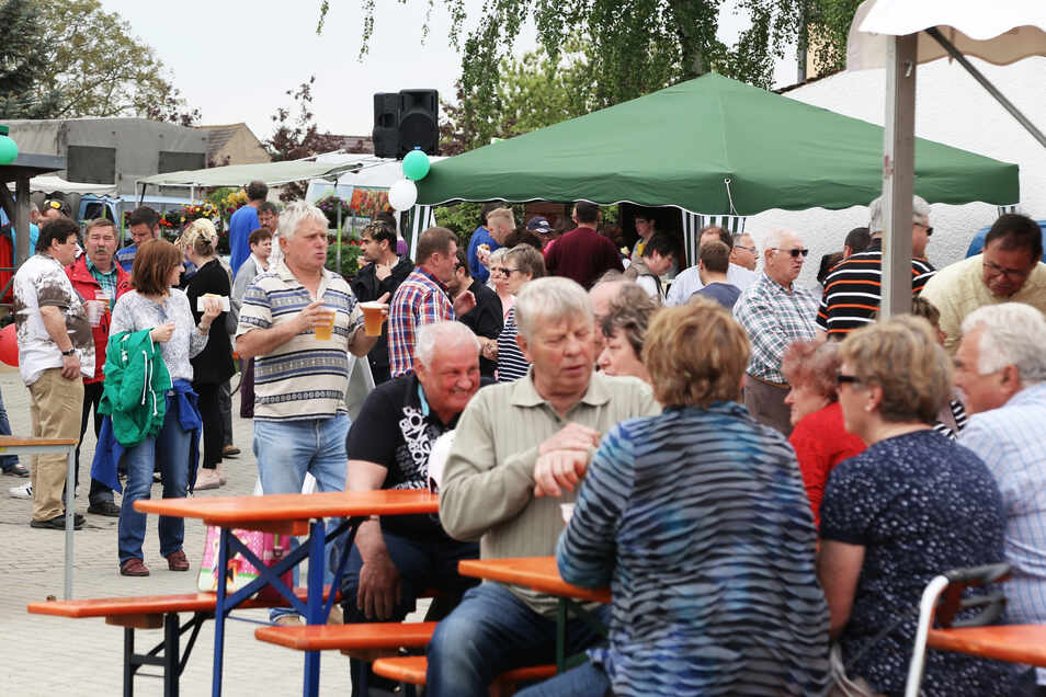 """2017 fand der Regionalmarkt """"Hausgemacht"""" in Kreinitz statt."""