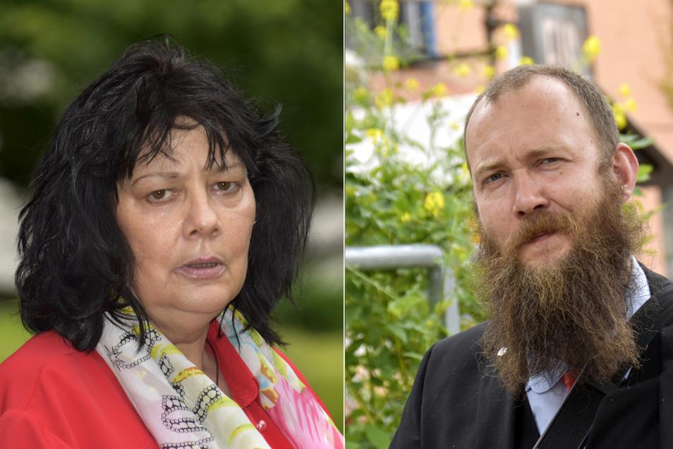 Manuela Graul möchte sich für soziale Themen einsetzen, Max Aschenbach den Nazi-Notstand für Dresden ausrufen.