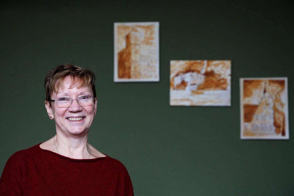 """Sylvia Mebus leitet die Schule, im kommenden Jahr geht sie in den Ruhestand. Sie sagt, mit Christian Honecker habe sie einen Stellvertreter gefunden, der freundlich und zupackend ist. """"Das ist klimamitbestimmend."""""""