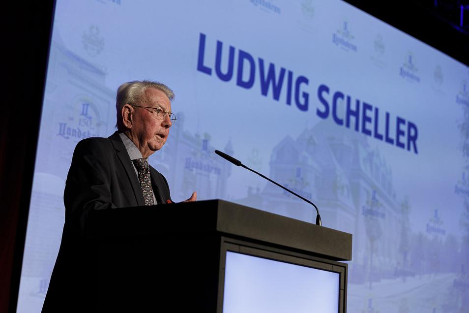 Hielt eine bewegende Rede als Vermächtnis: Ludwig Scheller, der auf dem Gelände der Görlitzer Landskron Brauerei vor 88 Jahren geboren wurde.