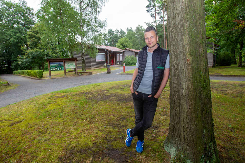 Wenn mehr als 50 Klassenfahrten wegbrechen: Geschäftsführer Sascha Martin vom Zirkelsteinresort in Reinhardtsdorf-Schöna.