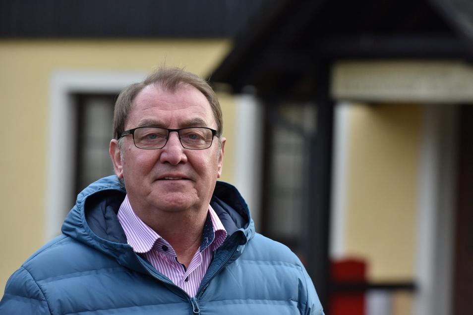 Andreas Liebscher, der bisherige ehrenamtliche Bürgermeister von Hermsdorf/Erz., ist auch der einzige Bewerber, der sich jetzt zur Wiederwahl stellt.