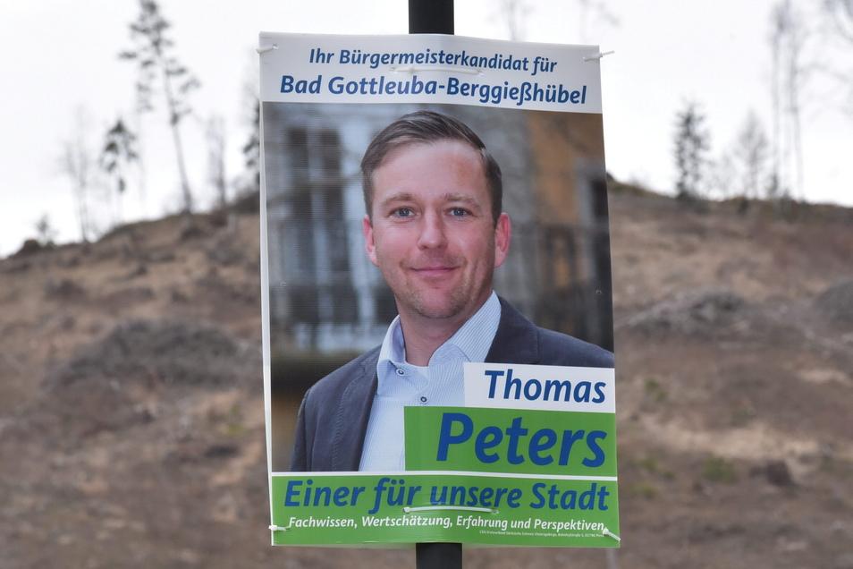 Die Wahl zum Bürgermeister hat Thomas Peters gewonnen, eine Abstimmung jetzt aber verloren.