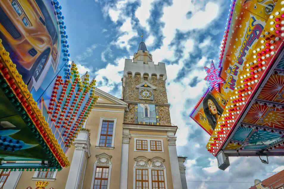 Das Stadtfest in Löbau - hier ein Archivfoto - fällt dieses Jahr der Corona-Pandemie zum Opfer.