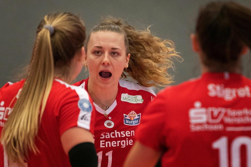 Im Zentrum des Höhenflugs. Maja Storck ist die punktbeste DSC-Spielerin. Genau dafür wurde die Nationalspielerin verpflichtet.