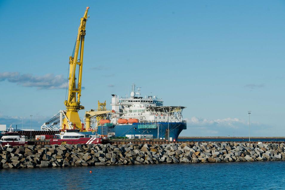 Die Ostseepipeline Nord Stream 2 beschäftigt auch die sächsische Landespolitik.