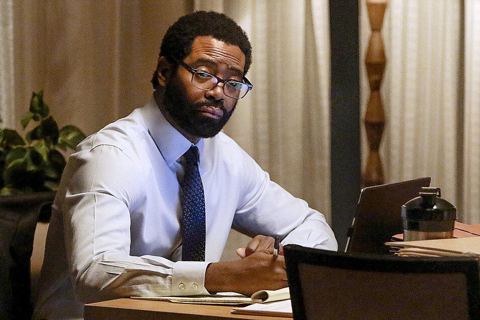 Aaron Wallace (Nicholas Pinnock) ist ein Kämpfer für die Gerechtigkeit: in der ersten Staffel stark, in der zweiten so lala.
