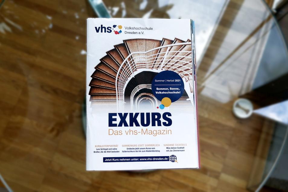 Das neue VHS-Magazin Exkurs erscheint in wenigen Tagen.
