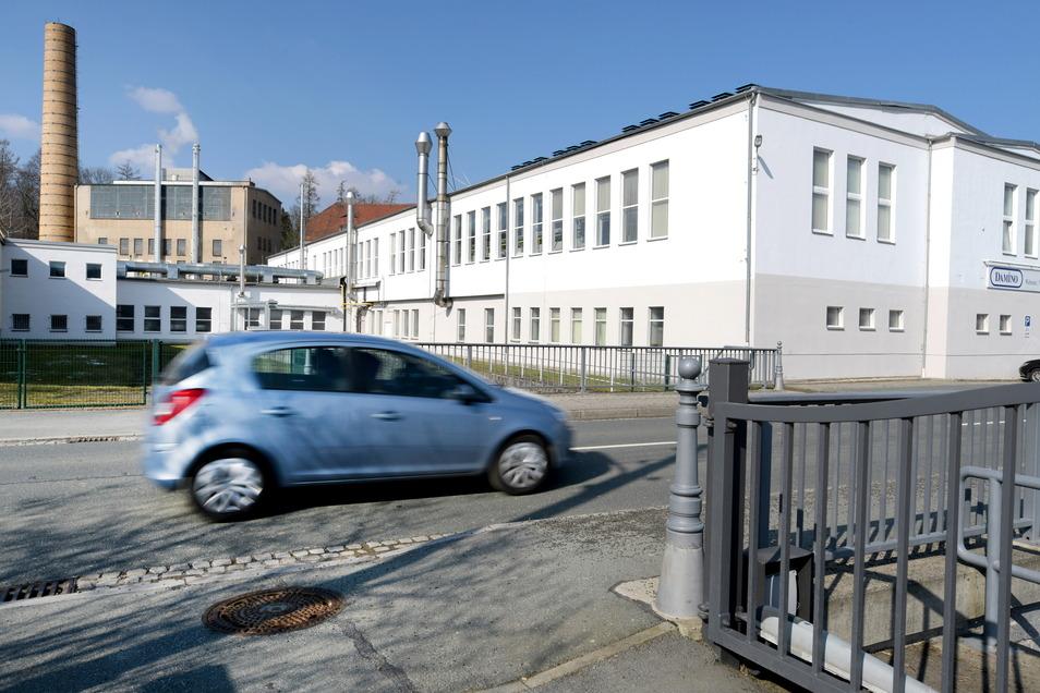 Seit 1836 ist das Textilunternehmen Damino in der Waltersdorfer Straße in Großschönau.