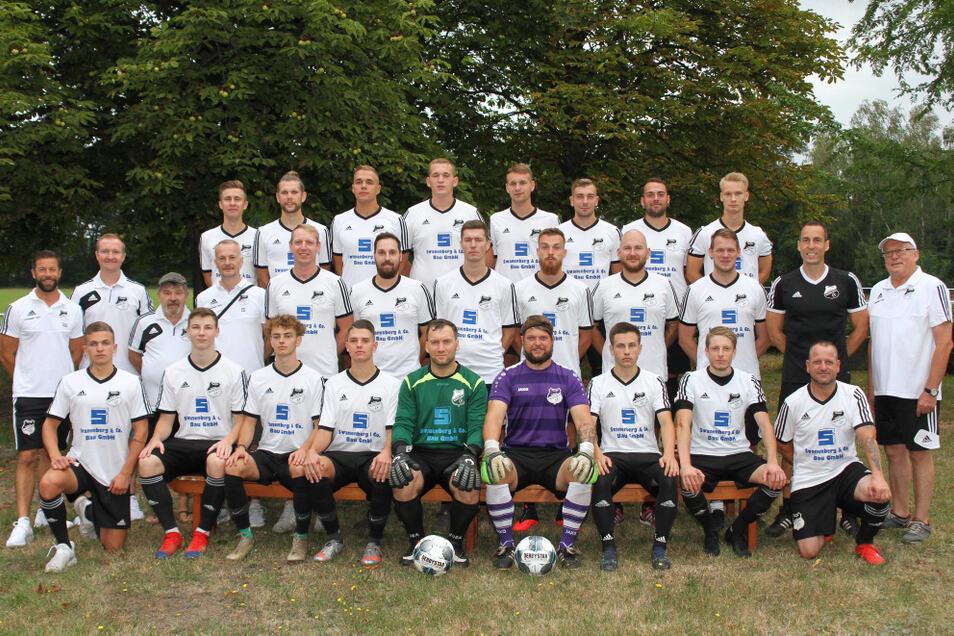 1. Männermannschaft der SpVgg Lohsa/Weißkollm Saison 2020/2021