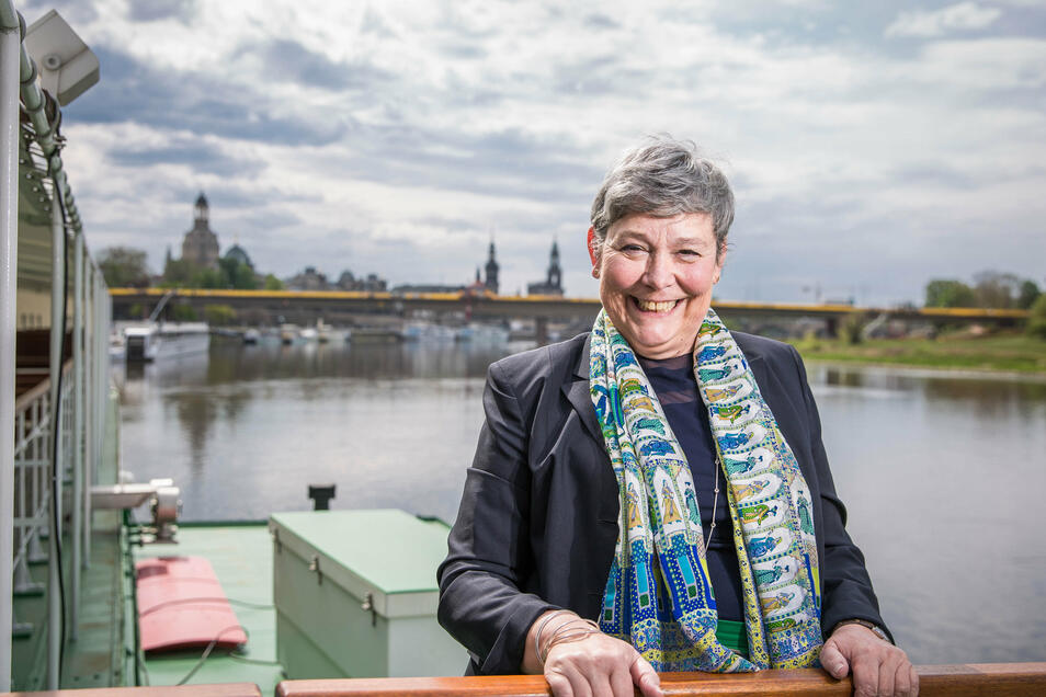 Karin Hildebrand war fast sieben Jahre lang Chefin der Sächsischen Dampfschiffahrt.