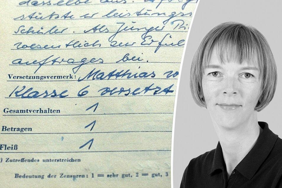 Kopfnoten passen nicht mehr in die Zeit, kommentiert SZ-Redakteurin Karin Schlottmann