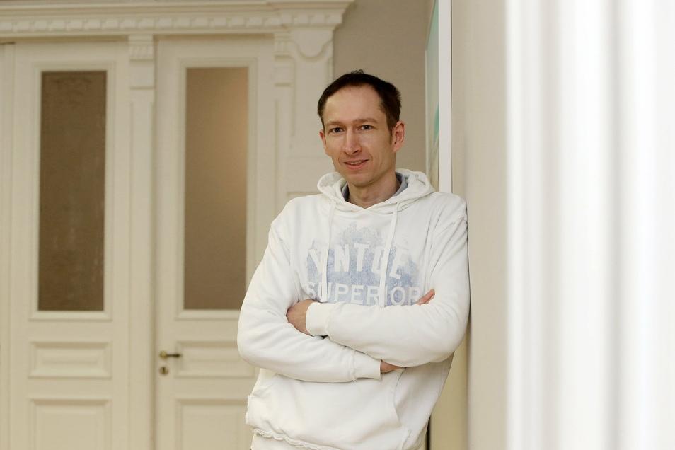 René Richter ist einer der Entwickler der Diabetes-App.