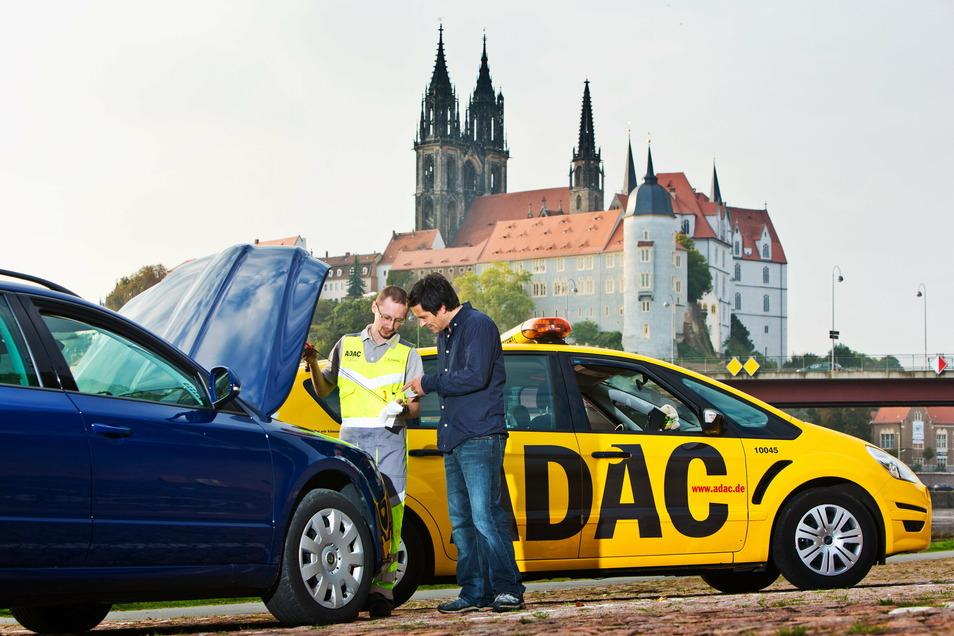 Kernkompetenz des ADAC bleibt die Pannenhilfe. In Sachsen sind die Gelben Engel und weitere Mobilitätshelfer vergangenes Jahr zu 118.319 Einsätzen ausgerückt.