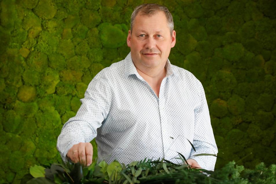 Jens Loschke ist Vertriebsleiter der Moos Moos Manufaktur aus Oppach.