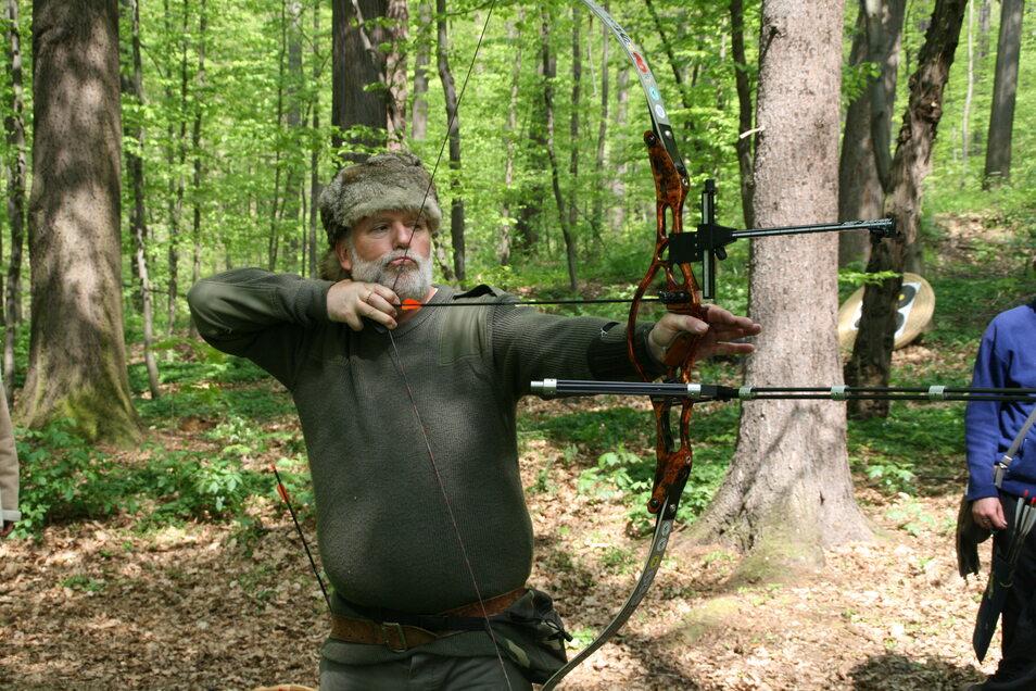Der 6-facher Weltermeister im Bogenschießen: Kurt Balvin (2008)