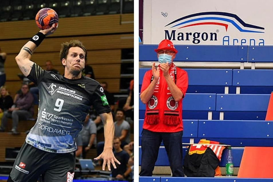 Die Handballer des HC Elbflorenz dürfen am Sonntag in der Ballsportarena noch vor Fans spielen, die DSC-Volleyballerinnen am Mittwoch danach in der Margon-Arena nicht mehr.