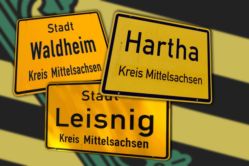 Der Städtebund Sachsenkreuz ist im April 2006 gegründet worden. 2014 ist Geringswalde ausgetreten, seitdem gehören Waldheim, Hartha und Leisnig dem Bündnis an.