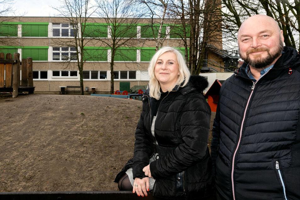 202 Kinder betreut das Team von Kita-Leiterin Susan Schramm im Kinderhaus in Neschwitz. Weil es dort eng wird, sucht Bürgermeister Gerd Schuster nach einer Lösung.