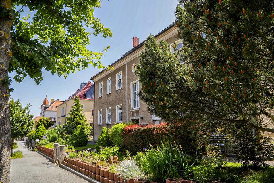 Ein Blick in die Stephanstraße mit ihren gepflegten Gärten.