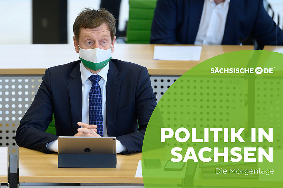 Sachsens Ministerpräsident Michael Kretschmer widerspricht Kanzlerin Angela Merkel.