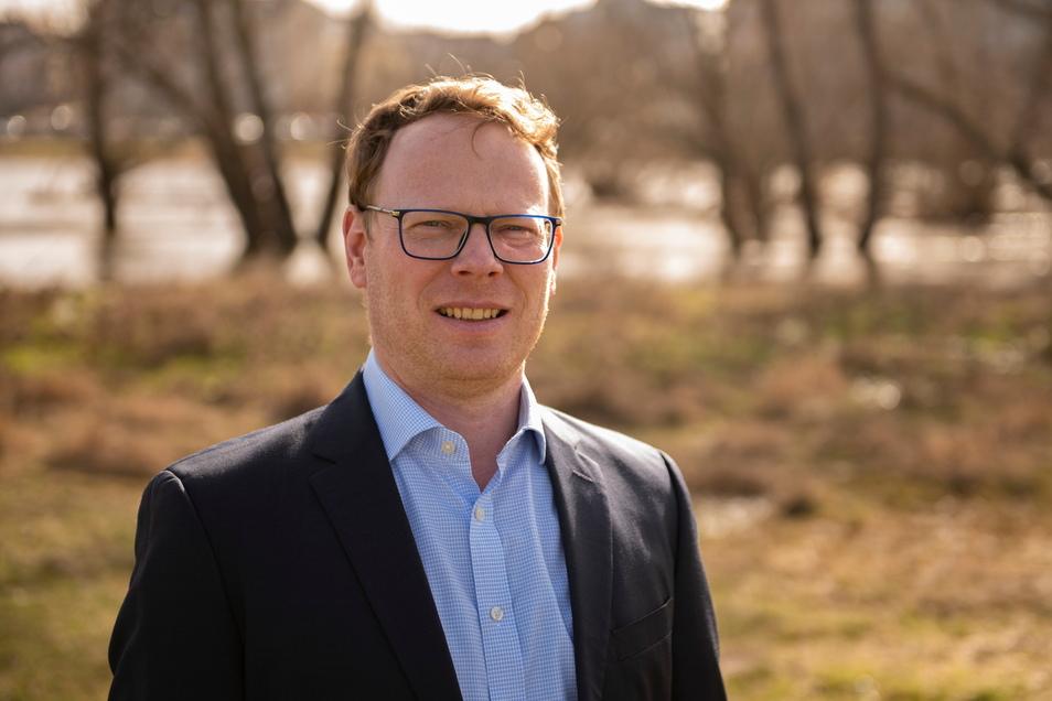 Mirko Pollmer ist der neue Chef im Zeithainer Rathaus.